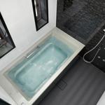 人工大理石の浴槽は最も優れた素材!値段は高価だけれども機能性が高い