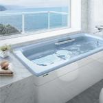 ホーローの浴槽はステンレス同様に触感がひやっとしているのが難点