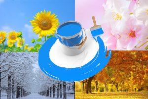 外壁の塗り替えに適した季節はいつ?溶剤系塗料ならば時期を選ばずに塗装が可能です