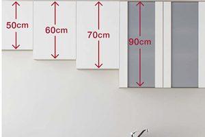 ラクエラの吊戸棚はサイズが豊富で使いやすい!デザインもシンプルでおしゃれです