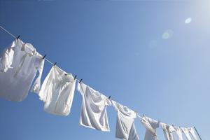 洗濯物が乾きやすい