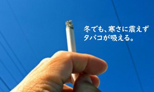タバコが吸えるサンルーム
