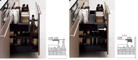 6.ザ・クラッソの収納は動線を考えて設計!キッチンワークの効率が大幅に上がります