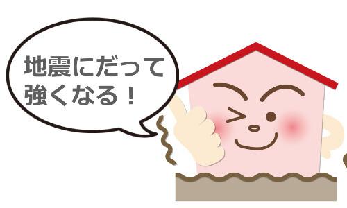 耐震強度の強い家