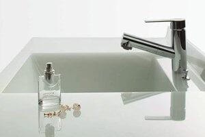 洗面カウンターもインテリアと調和するクリナップこだわりの美しさ