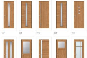 様々なインテリアに合う30種類のドアデザイン