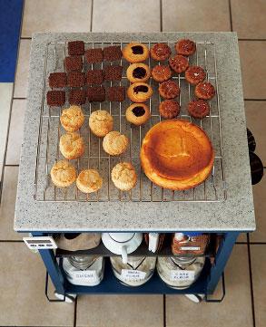 朝食やお菓子作り
